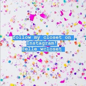 Other - Follow my closet on Instagram for more items:)